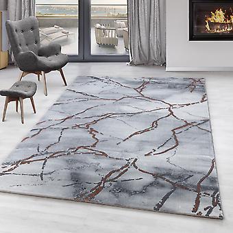Living Room Carpet OXIA Short Pile Design Pattern Marbled