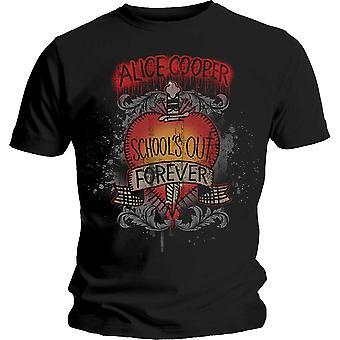 Alice Cooper - Schools Out Dagger Unisex Large T-Shirt - Black