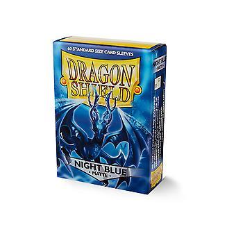 Dragon Shield Standard Matte Night Blue Card Sleeves - 60 Sleeves