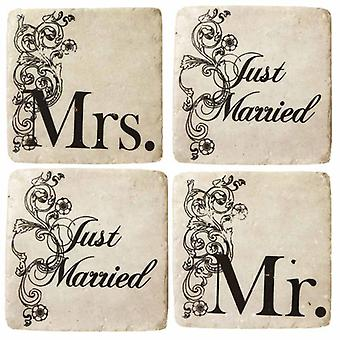 Coasters Just Married By Heaven Sends