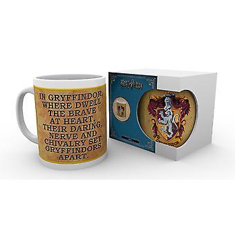 Harry Potter Gryffindor Characteristics Mug