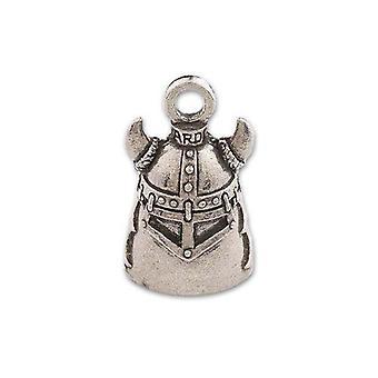 Guardian Cloche, Métal, Casque Viking, Cornes, Moto Bonne Chance Cloche