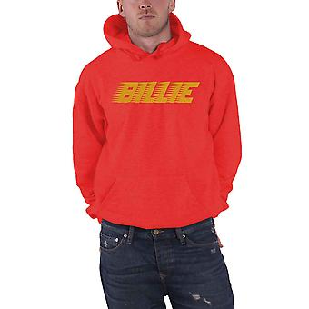 Billie Eilish Hoodie Racer Logo new Official Mens Red Pullover