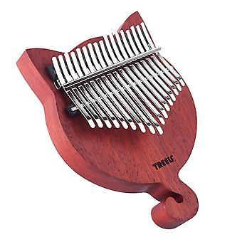 17 Chave kalimba madeira maciça piano polegar