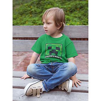 Minecraft Barn /Barn Creeper Face T-Shirt
