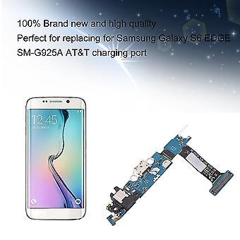 Καλώδιο Flex βάσης usb λιμένων φόρτισης για την άκρη S6 γαλαξιακών s6 της Samsung
