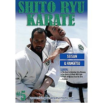Shito Ryu Karaté #5 Code craquant De Kata Seisan Dvd Billimoria -Vd7052A