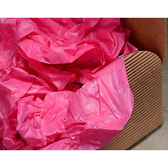 # LAST FEW - 5 Sheets of Best Quality Fuchsia Pink Tissue Paper | Gift Wrap Supplies