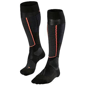 Falke Skiing Tour 4 Wool Knee High Socks - Black Mix