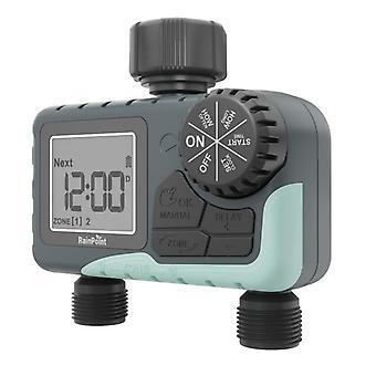 Digital water timer for garden new design 2 outlet irrigation