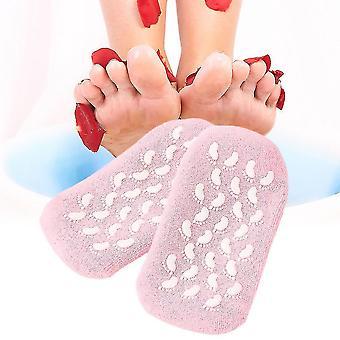 Moisturize Soften Repair Cracked Skin Gel Sock Skin Foot Treatment Spa Sock