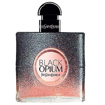 Yves saint laurent zwart opium bloemen shock eau de parfum 50ml