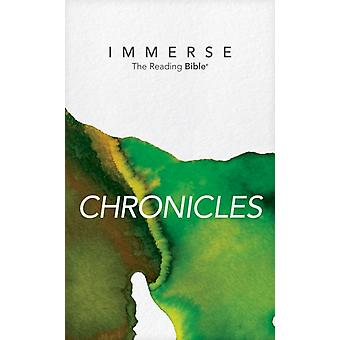 Immerse Chronicles Softcover by Institute for Bible Reading
