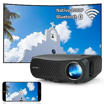 A12ab Projector 4k Beamer, Led Video New 7200 Lumens Wireless Projector