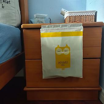 15Pcs/lot household cleaning tools car trash bags adhesive disposable waterproof cartoon hanging garbage storage bags