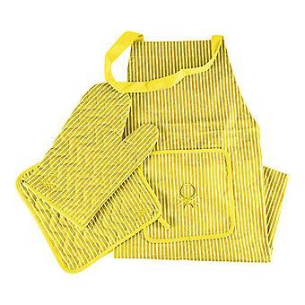 Schürze Benetton BE Yellow (3 Stück)
