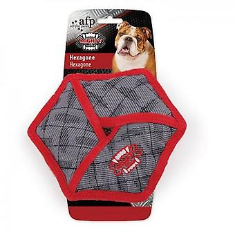 AFP Ballistics Hexagon Mighty Rex Toy (Dogs , Toys & Sport , Chew Toys)