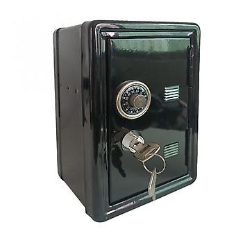 Säilytyslaatikko Rahalaatikko Avain rahalaatikko Metalli Turvallinen Säästäminen Turvallinen Digitaalinen Säästöpossu Talletus Setelin joululahja Musta
