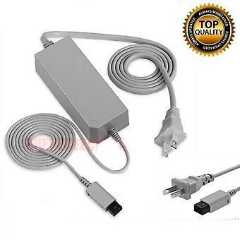 Ac Wall Power Supply Adapter Chargeur Câble Cordon pour Console Nintendo Wii