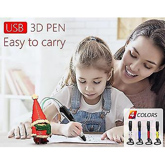 3D printers high quality 3d pen 3d printing pen abs and pla filament 1.75Mm. Usb output  low voltage security