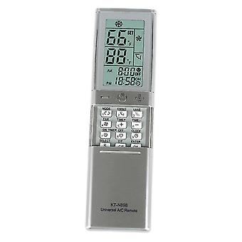 Air conditioner covers air conditioner remote control kt-n898 support for manual and automatic settings with display