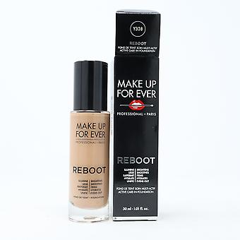 Make Up For Ever Ultra Hd Reboot Active Care-In-Foundation 1.01oz  New With Box