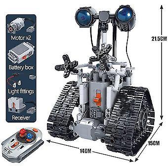 Zkzc 408pcs stad creatieve rc robot elektrische bouwstenen technische afstandsbediening intelligent