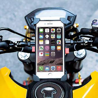 XL Universal Telefonhalter für Fahrrad & Motor - 360° Schwenk - Bis zu 6,5 Zoll Telefone