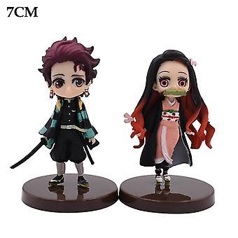 Demon Killer Cartoon Character Double Doll Cute Doll Birthday Gift