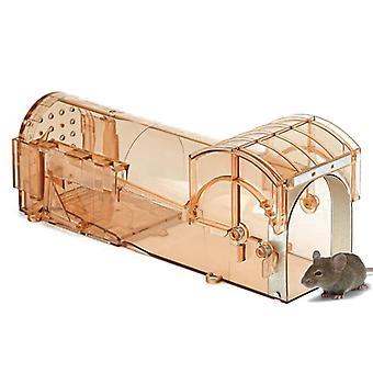 Kunststoff-Maus-Falle Humane Live Mause-Falle-Maus-Käfig
