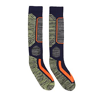 Unisex Ski Socks Knee High Outdoor Warm Winter Wool Stocking