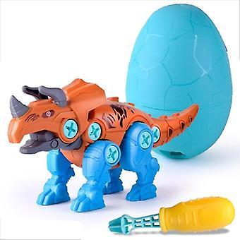 Construisez un kit de jeu d'œuf de dinosaure avec un tournevis