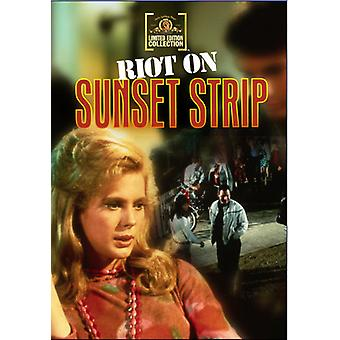 Riot on Sunset Strip [DVD] USA import