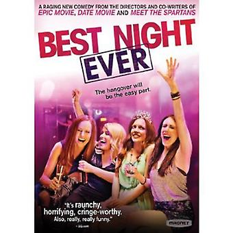 Best Night Ever [DVD] USA import