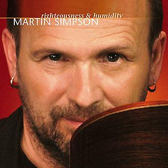 Martin Simpson - Righteousness& Humidity [CD] USA import