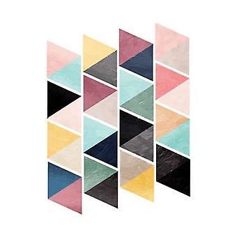 Печать плаката школа треугольников по OnRei