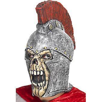 Maska římská zombie Halloween legionáři kostra lebky