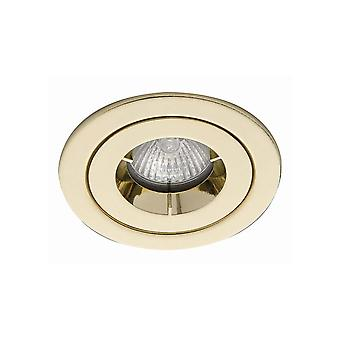 Ansell ICage Mini Showerlight IP65 50W GU10 in ottone