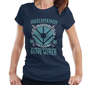 Vikings Shield Maiden Brave Women Women's T-Shirt