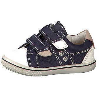 Ricosta Pepino jongens Nippy schoenen Ozean Navy wit