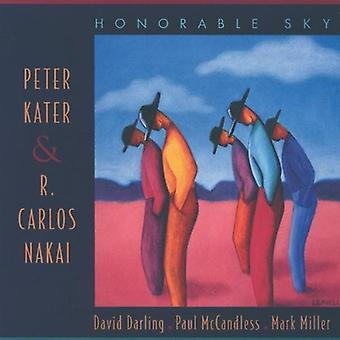Kater/Nakai - Honorable Sky [CD] USA import