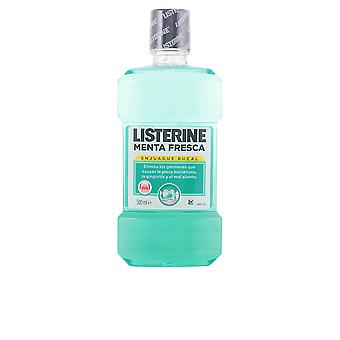 Listerine Menta Fresca Enjuague Bucal 500 Ml Unissex