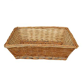 Large Tapered Split Willow Tray