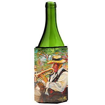 Trompeta jazz botella de vino bebidas aislador Hugger