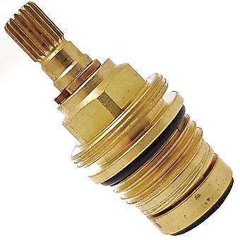 """A951130NU11 Norme idéale 1/2"""" Cartouche inch on/off pour robinets et valves de douche (Trevi, Armitage Shanks) - 18 Spline"""