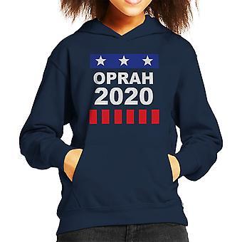Oprah Winfrey für Präsident 2020 Kind das Sweatshirt mit Kapuze
