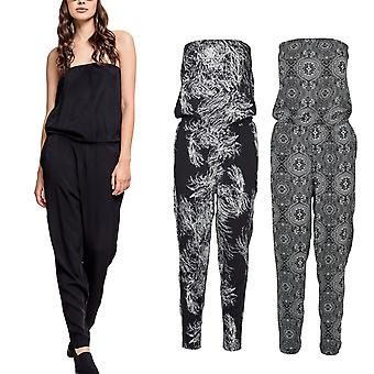 Urban classics ladies - bandeau summer jumpsuit jumpsuit