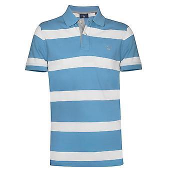 GANT GANT Spielzeug blau gestreiftes Polo-Shirt zu blockieren