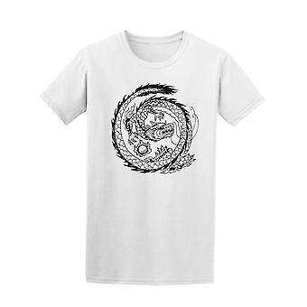 Asian Dragon Circle Tee Men's -Image by Shutterstock