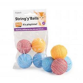 String Y Balls Cat Toy